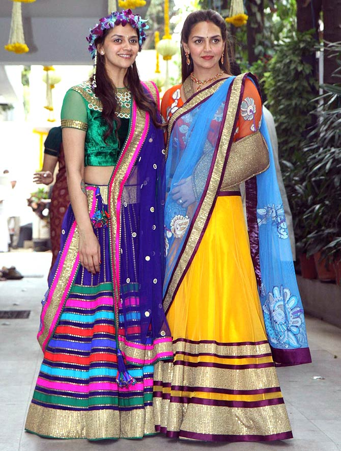Ahana and Esha Deol