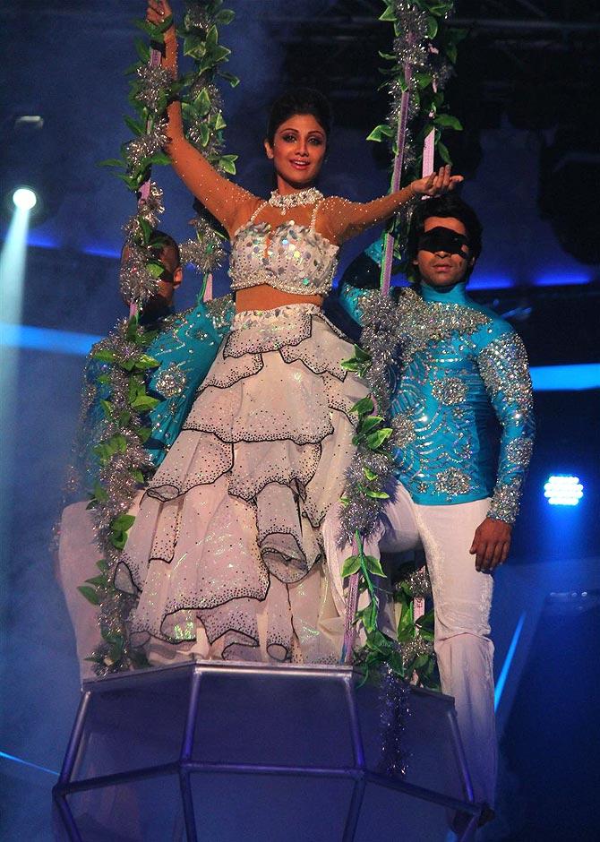 Shilpa Shetty on Nach Baliye 6