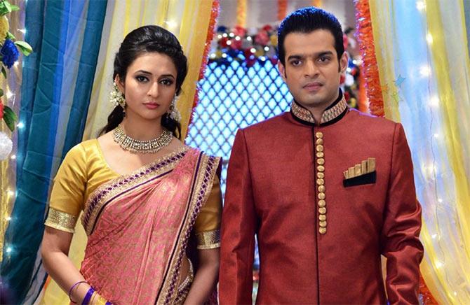 Divyanka Tripati and Karan Patel in Yeh Hai Mohabattein