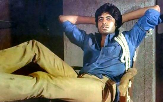 Amitabh Bachchan in Deewar