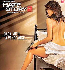 Surveen Chawla in Hate Story poster