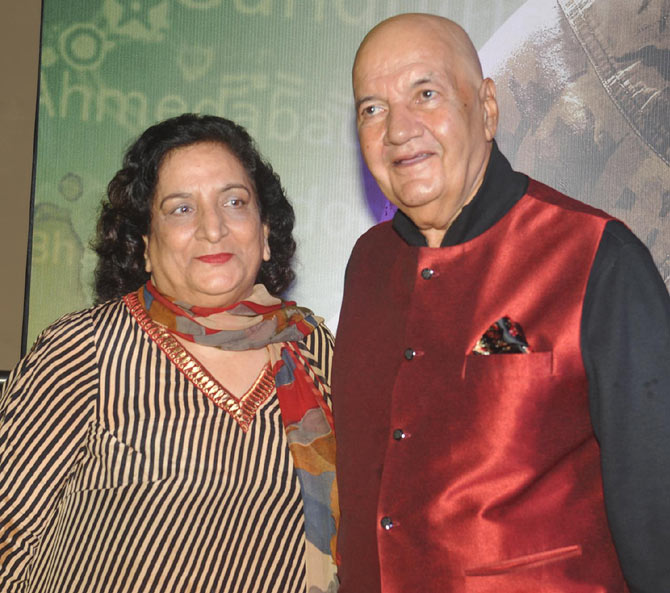 Uma and Prem Chopra
