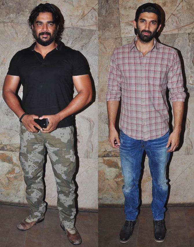 R Madhavan, Aditya Roy Kapoor