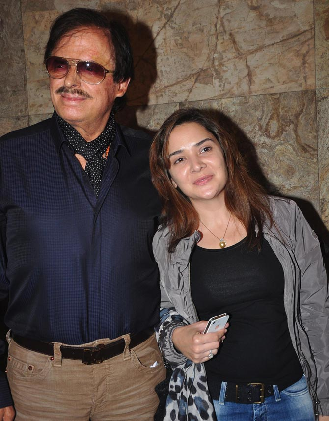 Sanjay and Mallika Khan