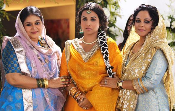 Supriya Pathak, Vidya Balan and Tanvi Azmi in Bobby Jasoos