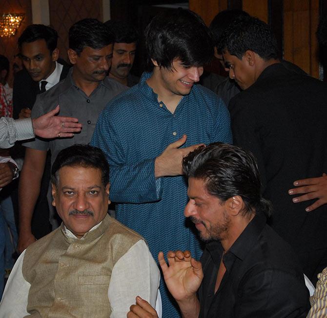 Prithviraj Chauhan, Shah Rukh Khan, Vivaan Shah
