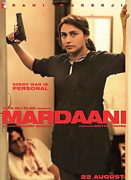 Movie poster of Mardaani