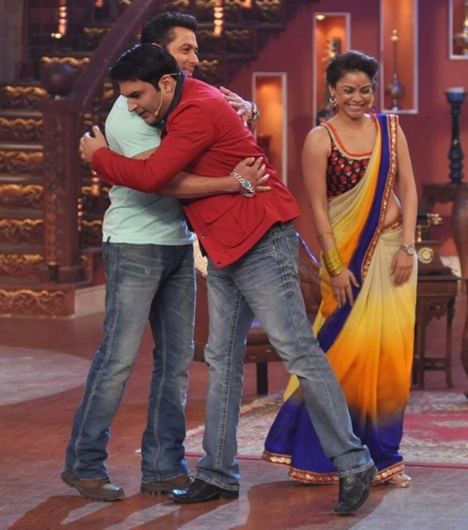 Salman Khan with Kapil Sharma