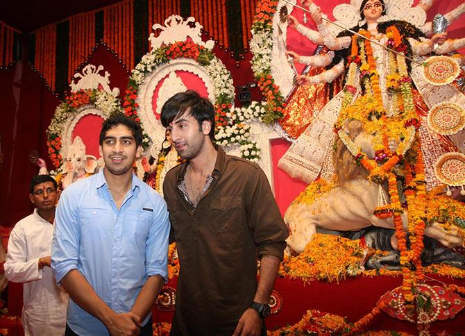Ayan Mukerji and Ranbir Kapoor