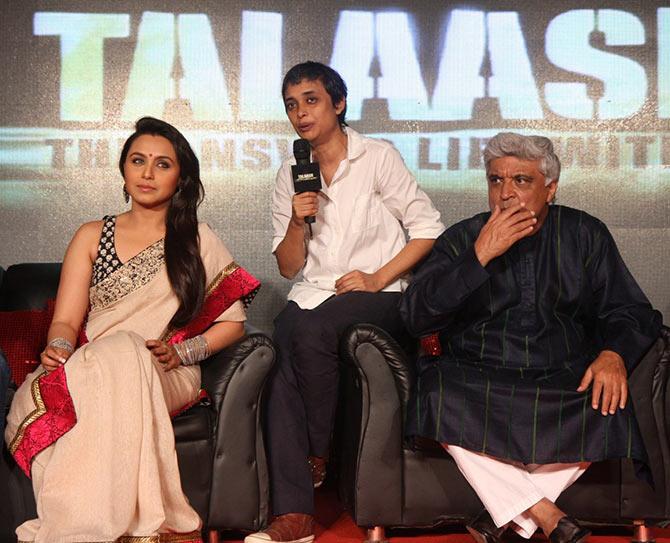 Rani Mukerji, Reema Kagti, Javed