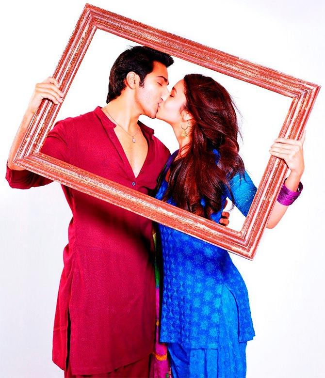 Varun Dhawan and Alia Bhatt in Humpty Sharma Ki Dulhaniya