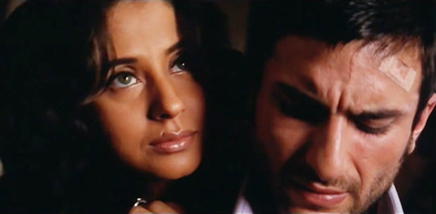 Urmila Matondkar and Saif Ali Khan in Ek Haseena Thi