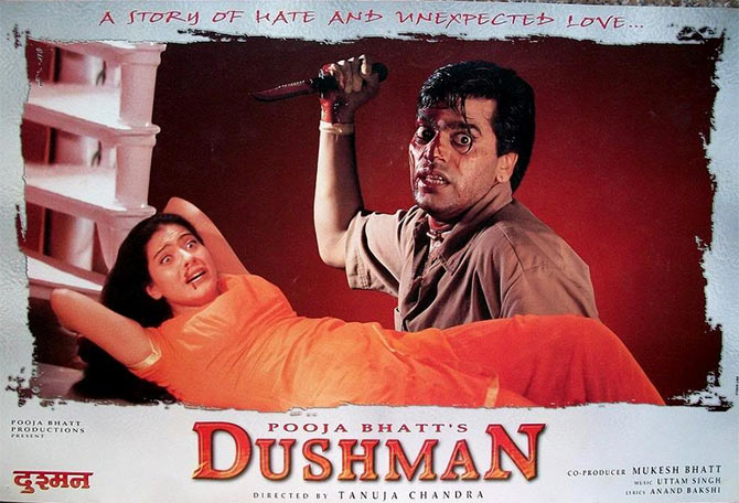 Movie poster of Dushman