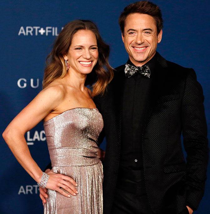Robert Downey Jr and Susan Downey
