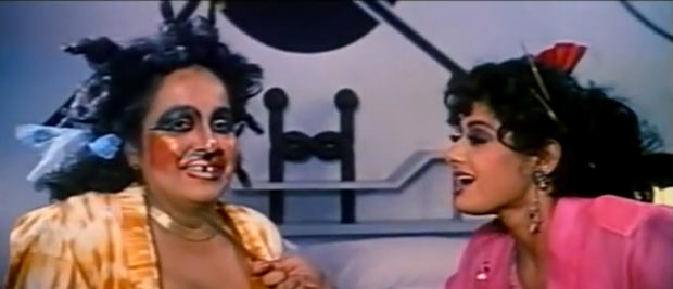 Rohini Hattangadi and Sridevi in Chalbaaz