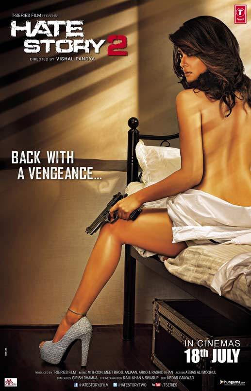 Movie poster of Hate Story 2