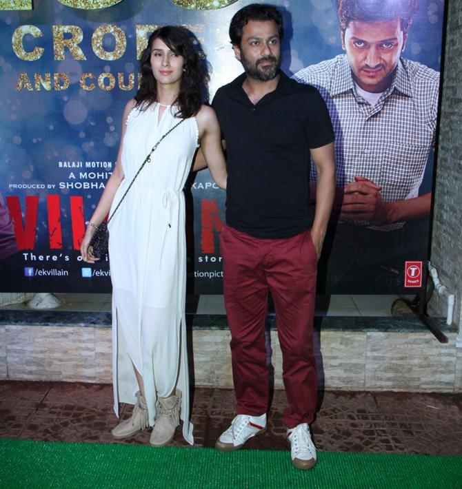 Abhishek Kapoor with Pragya Yadav