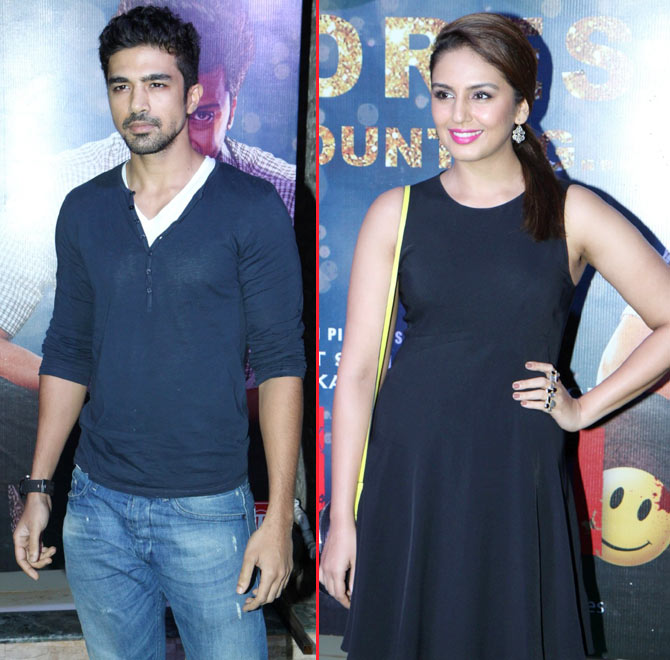 Saqib Saleem and Huma Qureshi