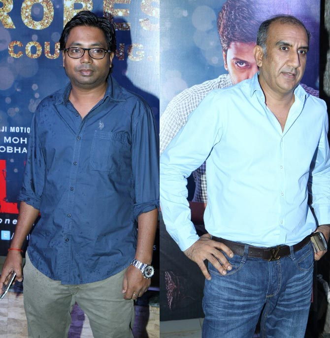 Rajkumar Gupta and Milan Luthria