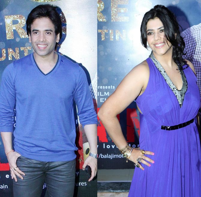 Tusshar and Ekta Kapoor
