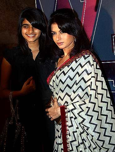 Bhagyashree with her daughter