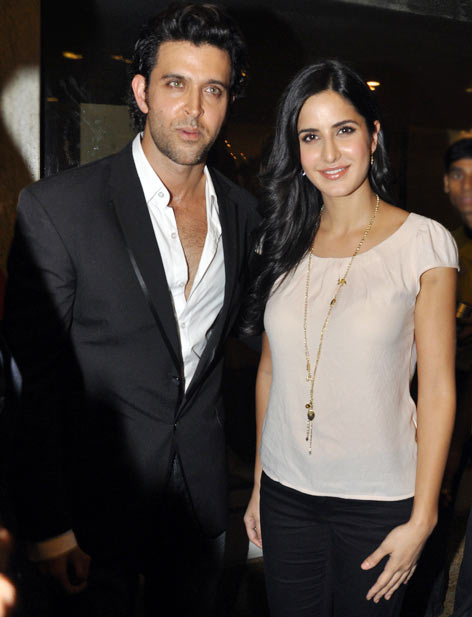 Hrithik Roshan and Katrina Kaif in Bang Bang