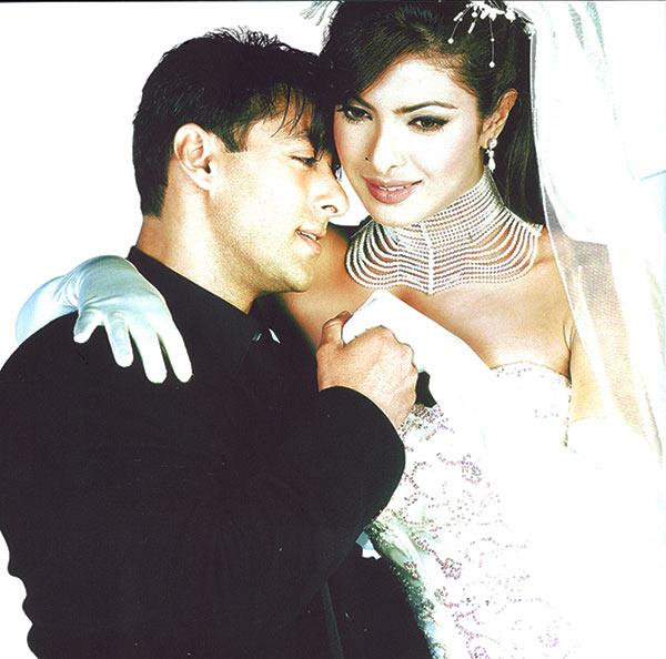 Priyanka Chopra with Salman Khan in Mujhse Shaadi Karogi