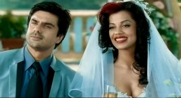 Mugdha Godse with Sameer Soni in Fashion