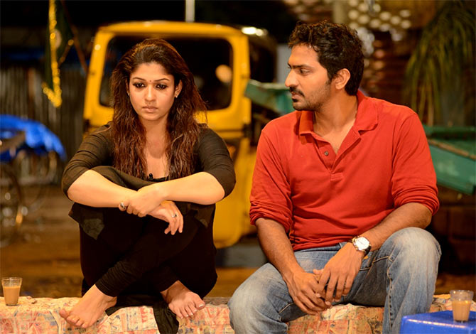 Nayanthara and Harshavardhan Rane in Anamika