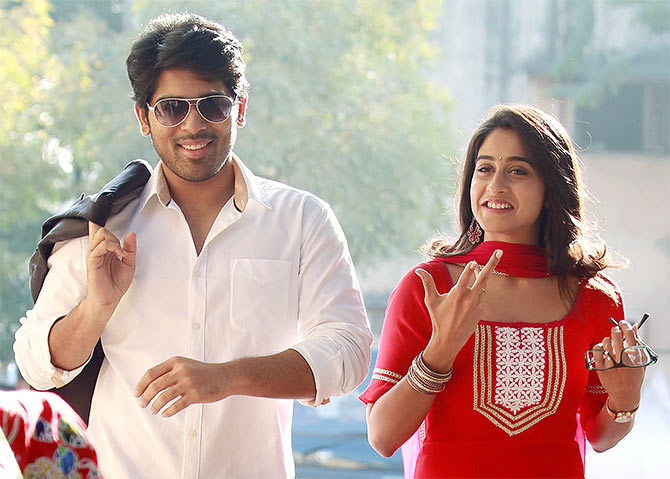 Allu Serish and Regina Cassandra in Kotha Janta