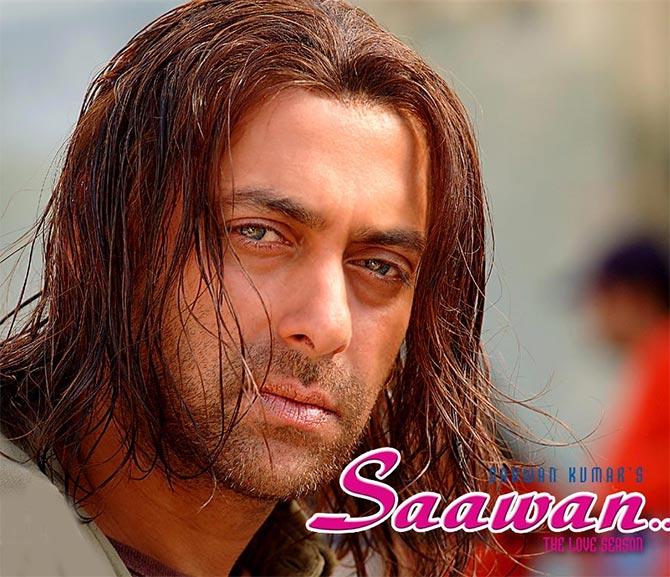 Salman Khan in Saawan