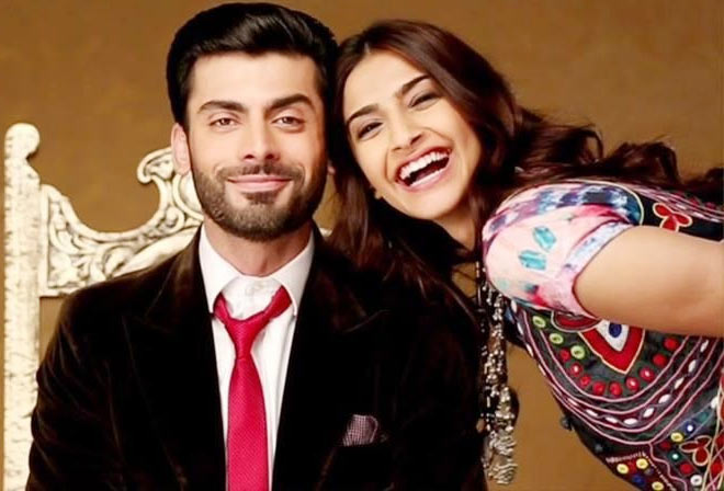 Fawad Khan with Sonam Kapoor in Khoobsurat