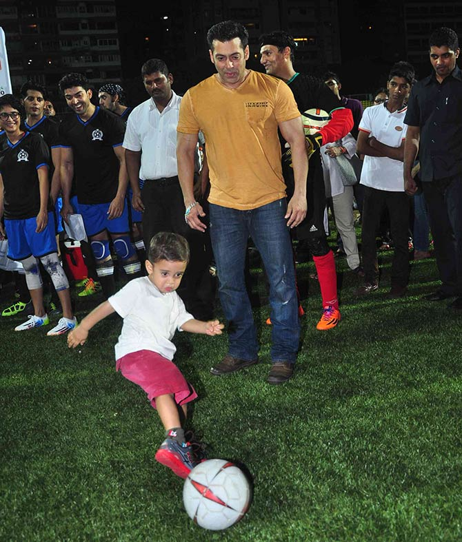 Salman Khan and Azad