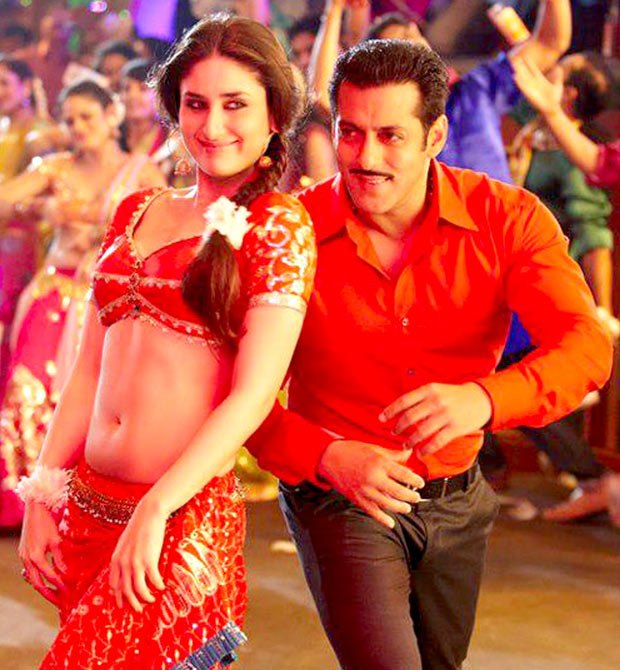 Kareena Kapoor Khan and Salman Khan in Dabangg 2