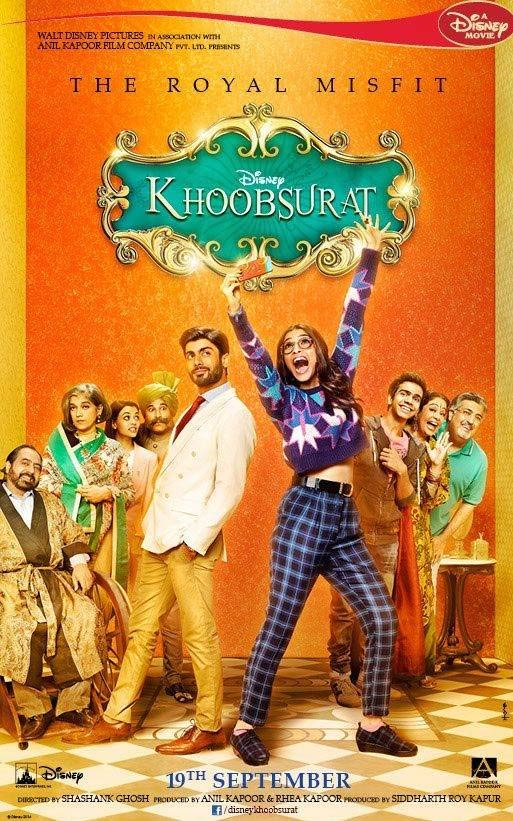 Movie poster of Khoobsurat