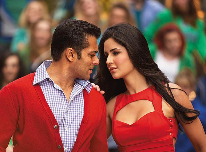 Salman Khan and Katrina Kaif in Ek Tha Tiger