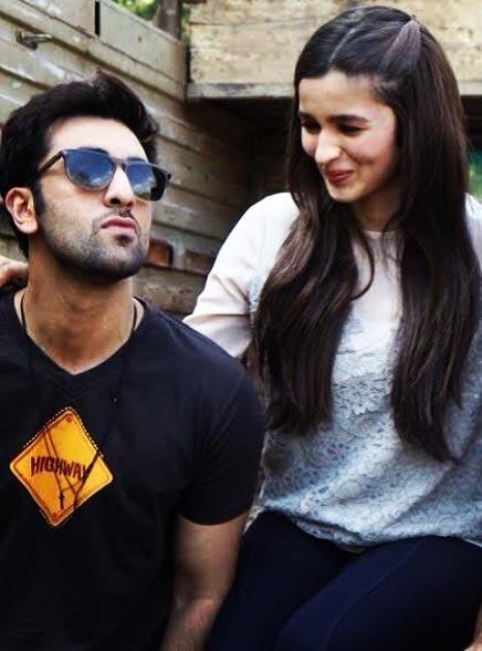 Ranbir Kapoor and Alia Bhatt