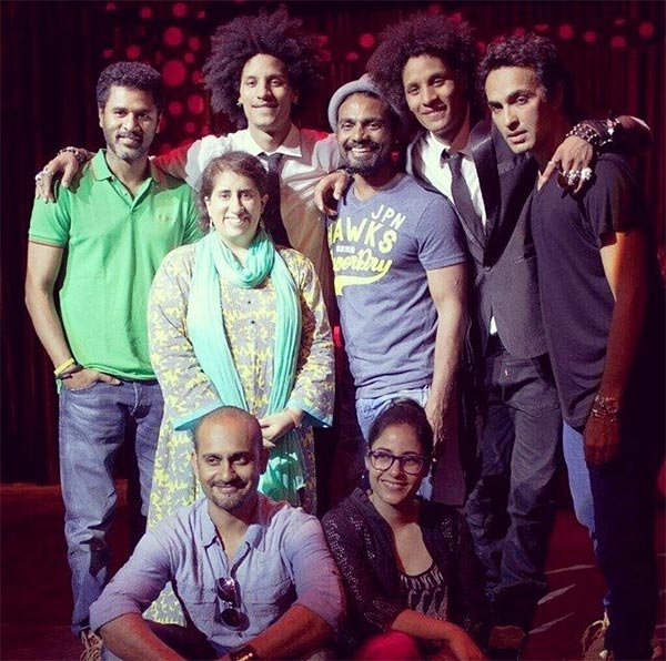 The cast and crew of Zubaan