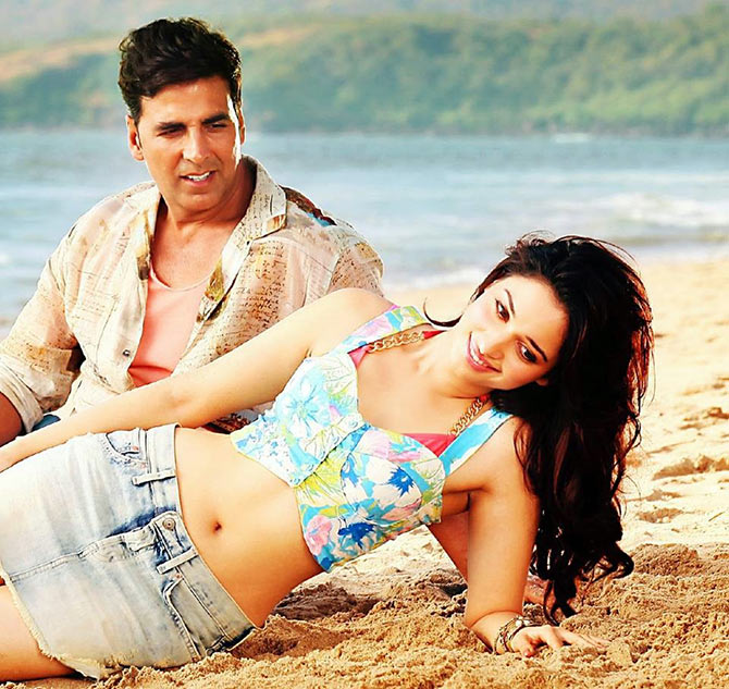 Akshay Kumar and Tamannaah in It's Entertainment