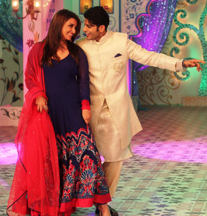 Parineeti Chopra and Karanvir Bohra
