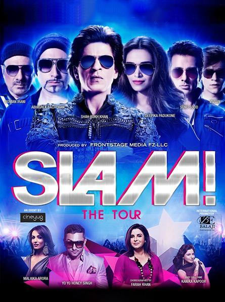 Current Bollywood News & Movies - Indian Movie Reviews, Hindi Music & Gossip - Watch: Shah Rukh Khan's SLAM! The Tour