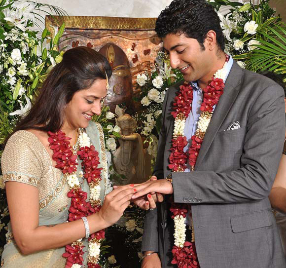 Ahana Deol and Vaibhav Vora