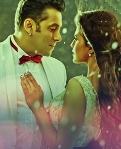 Salman Khan and Jacqueline Fernandez in Kick