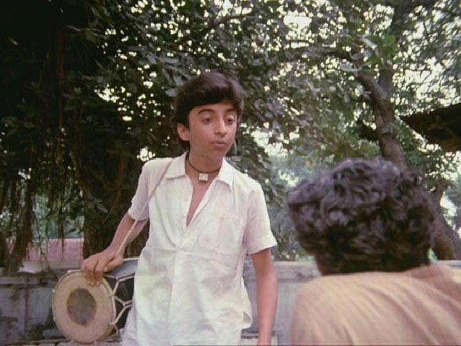 Master Raju in Woh Saat Din