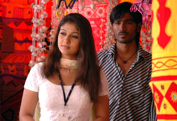 Nayantara and Dhanush in Yaaradi Nee Mohini