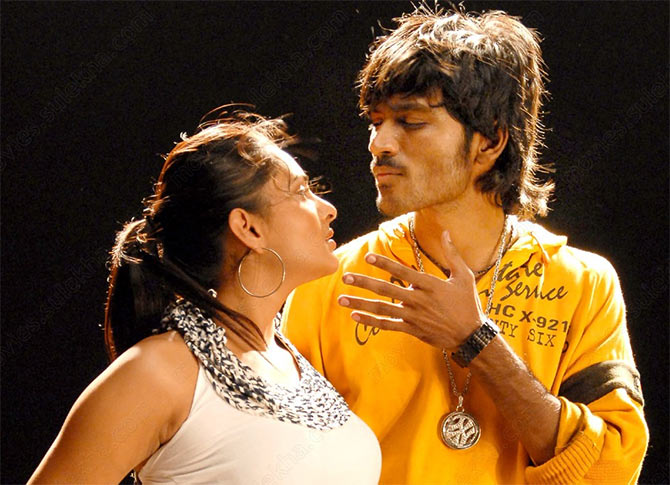 A still from Polladhavan