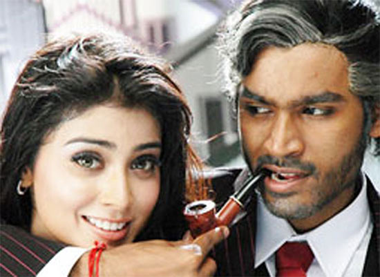 Shriya Saran and Dhanush in Thiruvilayadal Arambam