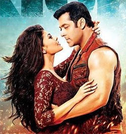 Jacqueline Fernandez and Salman Khan in Kick