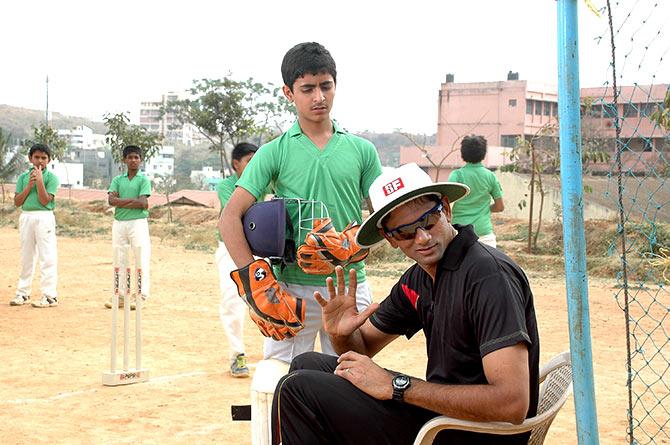 A scene from Sachin... Tendulkar Alla