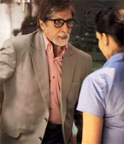 Amitabh Bachchan on Yudh